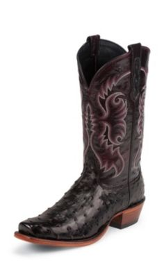 Men's  BLACK+CHERRY+B/O+FULL+QUILL+OSTRICH Rodeo Boots, Western Boots, Cowboy Boots, Ostrich Boots, Nocona Boots, Country Outfitter, Tall Guys, Me Too Shoes, Boots