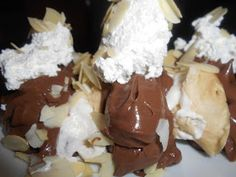 Cookbook Recipes, Cake Recipes, Cooking Recipes, Greek Sweets, Greek Cooking, Deserts, Food And Drink, Pudding, Ice Cream