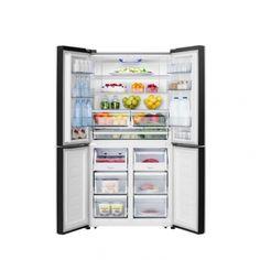 Americká lednice Hisense RQ689N4AC2   EURONICS French Door Refrigerator, French Doors, Kitchen Appliances, Home, Diy Kitchen Appliances, Home Appliances, Ad Home, Homes, Kitchen Gadgets