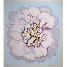 lowell blair nesbitt | Lowell Blair Nesbitt, Flower, Serigraph