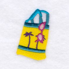 Beach Bag Free Embroidery Designs and Free Embroidery Downloads | Starbird Stock Designs