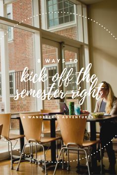 I'm always excited to start a new semester. So today, I'm sharing 8 ways to kick off the semester right to ensure that your semester rocks!