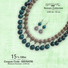 #Navratri Collection - Lattice #Bali #Beads hanger with #green jades - COD @ #BigBillionDays https://www.mayasarc.com/product/drop-down-green-jades-silver/2100-2113?utm_content=buffer5d441&utm_medium=social&utm_source=pinterest.com&utm_campaign=buffer