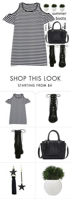 """summer boots(Zaful 57)"" by meyli-meyli ❤ liked on Polyvore featuring Steve Madden"