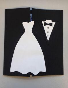 KLASSENKUNST: Hochzeitskarte basteln