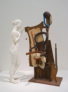Collection Online | George Segal. Picasso's Chair. 1973 - Guggenheim Museum