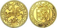 NEDERLAND, Koninkrijk, Juliana (1948-1980), AV grote gouden rijder...