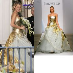Serena Van Der Woodsen In A Georges Chakra Couture Gown