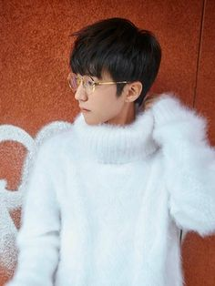 Fluffy and Bulky Mohair Lover Fluffy Sweater, Mohair Sweater, Jackson Yi, Asian Kids, Boys Sweaters, Teen Boys, Catsuit, Photo Book, My Idol
