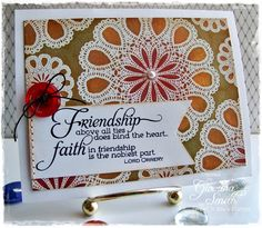 Believe: SNSS Feature Blog Hop Day 2: Delightful Doilies & Faith