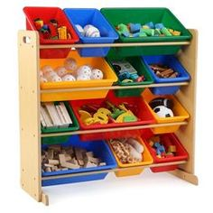 Primary Toy Organizer - Natural - Tot Tutors