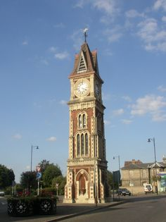 The clocktower in Newmarket Suffolk, UK. Our home for many years. (Newmarket, not the Clocktower!). :)