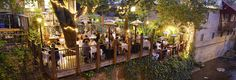 Novo Restaurant Lounge - BEST patio, summer, winter, fall and spring! Always heated, always gorgeous. And amazing food!