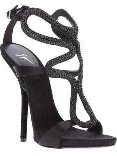 Giuseppe Zanotti embellished sandal [CELE15001] - $224.00 : Discounted Christian Louboutin,Jimmy Choo,Valentino Shoes Online store