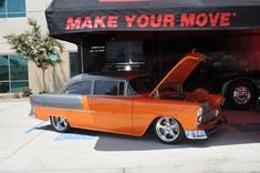 The K & N 1955 Chevy Hot Rod Tours the Nation