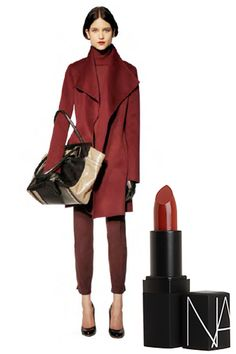 Cardinal Rule: What To Wear With A Red Lip - Nars lipstick