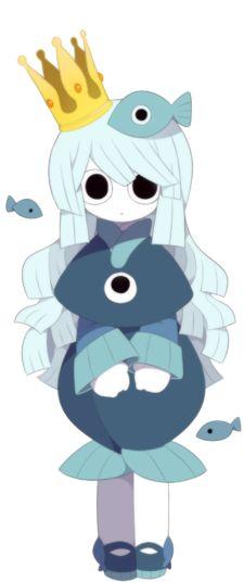 Princesa Uomi arte carácter 2