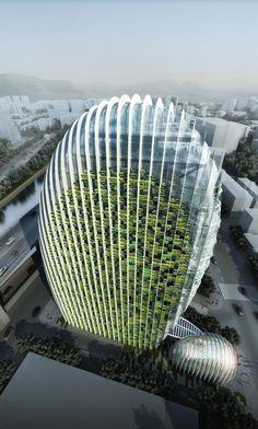 World of Architecture: Impressive Modern Office Tower by Aedas   #worldofarchi