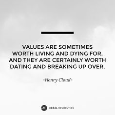 Morals dating