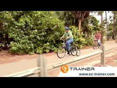 Grands Stabilisateurs pour vélo adulte en image. Des roues stabilisatrices idéales pour le maintien de l'équilibre à vélo. Un véritable atout pour reprendre confiance sur son deux roues.