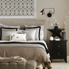 Neutral Colour Scheme Bedroom | #NeutralBedroom