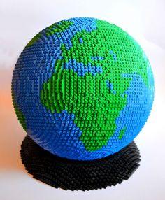 The Earth   lego