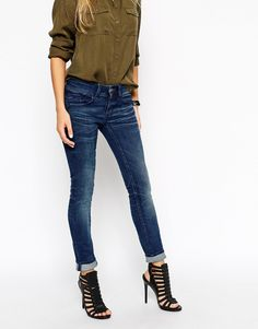 Image 1 ofG Star Lynn Skinny Jeans