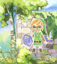 The Legend of Zelda: A Link Between Worlds by ultimatesol