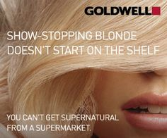 Colour Lab <3 Goldwell  Show-Stopping Blonde Doesn't Start On The Shelf