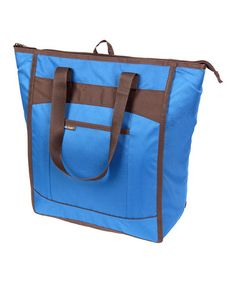 Take a look at this Blue Chillout Thermal Tote by Rachael Ray on #zulily today!$11.99, regular 20.00 Available in many colors.