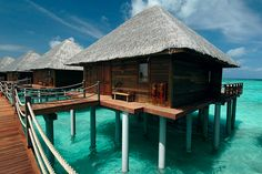 Take me to the Maldives! (Where are they again?) Who cares if it looks like this!