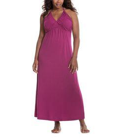 Look at this #zulilyfind! Marsala Red Lounger Dress - Plus by Lane Bryant #zulilyfinds