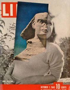 "Saatchi Art Artist Deborah Stevenson; Collage, """" Stony Gaze """" #art"