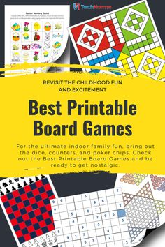 21 best printable board games that will entice your mind and make times more memorable, fun and educate your kids about life skills through enticing play. Activity Games, Math Games, Activities For Kids, Family Fun Games, Family Fun Night, Game Of Life, Life Board Game, Game Boards, Printable Board Games