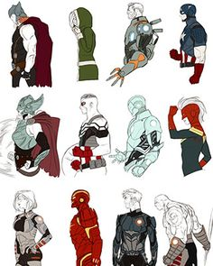 Marvel artist Kris Anka best known for his work on All-New X-Factor, Uncanny X-Force, Uncanny X-Men, and New Mutants has created 68 character portraits in the style of Marvel NOW! If you have been following all the new character redesigns in Marvel NOW! over the last couple years these should be a great overview. H/T: Geek Art