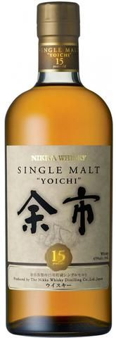Yoichi 15 Single Malt Japanese Whisky