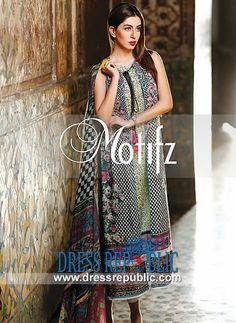 Motifz Embroidered Lawn Prints for Eid 2014  Buy Online Motifz Embroidered Lawn Prints for Eid 2014 in Germany and France. Over 6000 Lawn Suits Products to Choose From. by www.dressrepublic.com