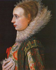 """""""Unknown Lady"""" by Nathaniel Bacon (1620)"""