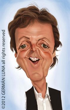 paul mccartney caricatura - Google Search