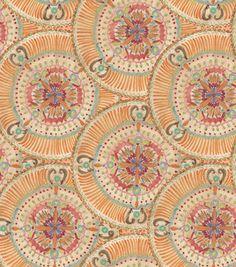 Legacy Studio Quilt Fabric- Ikat Floral Dish Tile: premium quilting fabric: quilting fabric & kits: fabric: Shop | Joann.com