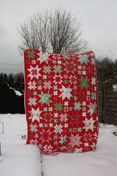 great christmas quilt!