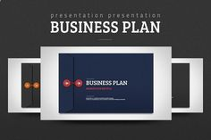 Ad: Business Plan by Good Pello on Business Plan presentation template is designed based on the envelope concept. It's very neat and contains various types of diagrams that Business Plan Presentation, Presentation Design Template, Powerpoint Presentation Templates, Powerpoint Presentations, Ppt Template, Business Envelopes, Business Brochure, Business Card Logo, Business Marketing