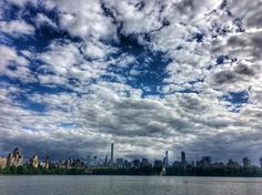 Clouds at the #resevoir #centralpark #nyc #photooftheday #photography #sky