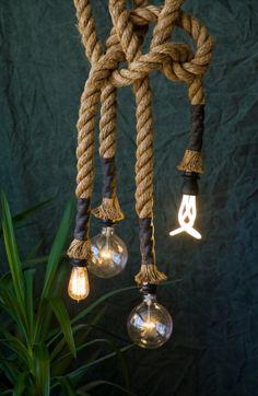 "Manila Rope lights (1.5"" diameter)"