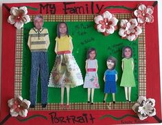 family craft ideas for preschool 1000 images about my family crafts on shape 6554