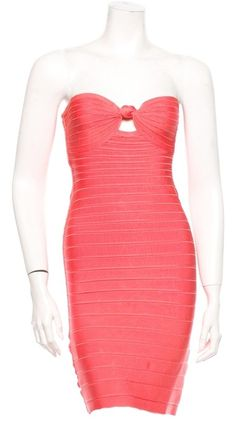 """Herv Leger Arabella Dress. The Herv Leger Arabella Dress was voted a """"Top 10 Favorite"""" by Tradesy Members. Get it now and save 64%"""