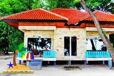 Penginapan Cottage di Pulau Putri Resort Kepulauan Seribu Jakarta. #penginapan #cottage #pulauputri #pulauseribu
