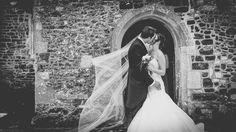 Bride and groom kiss shot - Black and White wedding photography Kiss Shot, Our Wedding, Wedding Ideas, Groom, Wedding Photography, Bride, Black And White, Wedding Dresses, Fashion