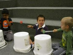 wow!  just came across this, it's my class from a few years back!  HA!   Bucket Drumming