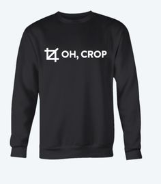 baa0ee0d67 Made exclusively for designers, this limited edition 'oh, crop' t-shirt